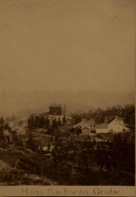 Historisk bilde, Haus Sachsen (Foto/Photo)