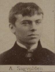 Smed Anton J. Sagvolden (1869-1949) (Foto/Photo)