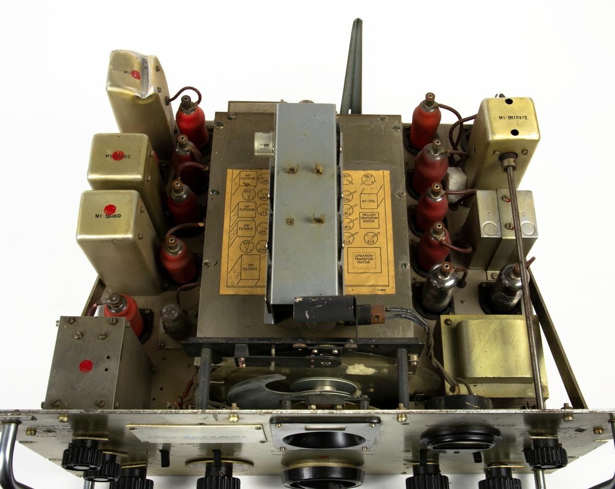 Radiomottagare MRM 6 till Markradiostation FMR-1B.