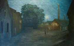 Gasverket, Karlstad * [Målning]