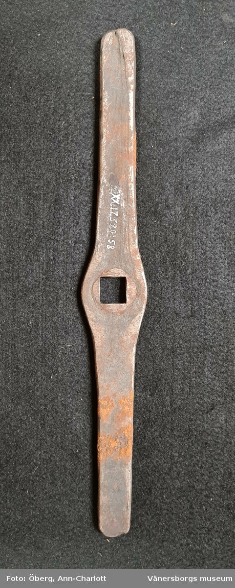 Svängjärn   Använda vid slöjundervisning. Ingår i en samling med 95 verktyg.