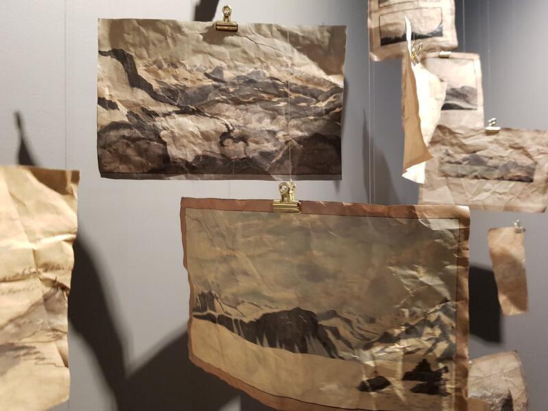 Installasjon av H. Åmli (Foto/Photo)