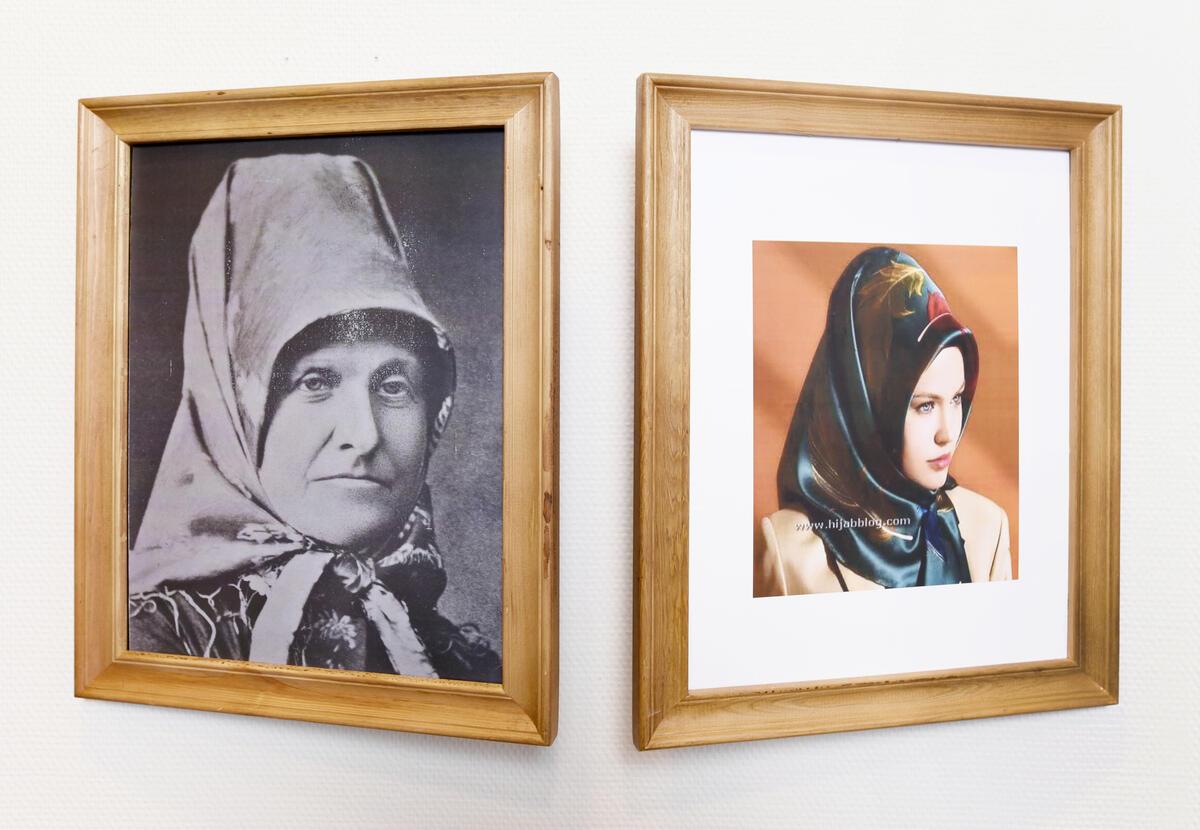Fra utstillingen Solør-hijab, Kongsvinger museum (Foto/Photo)