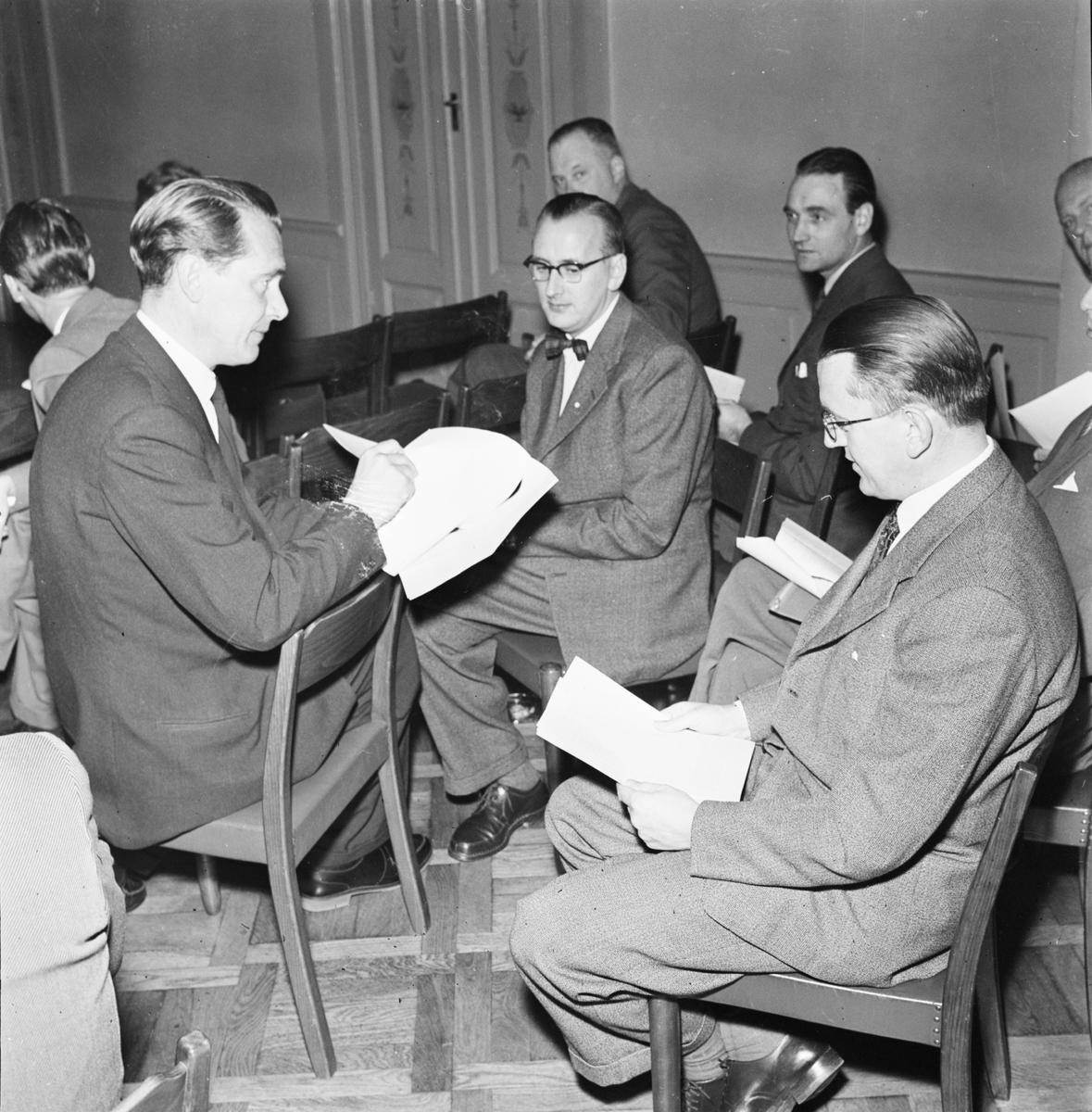 Reklamföreningen - möte oktober 1956
