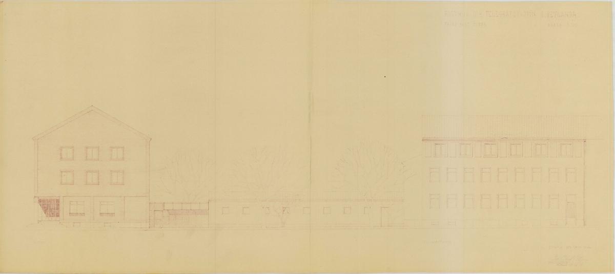 Posthus och telegrafstation Vetlanda
