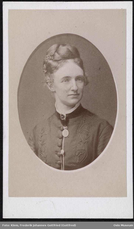 portrett, kvinne, brystbilde