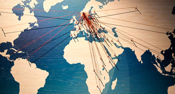 Vår felles verdensarv - kartet. Foto/Photo