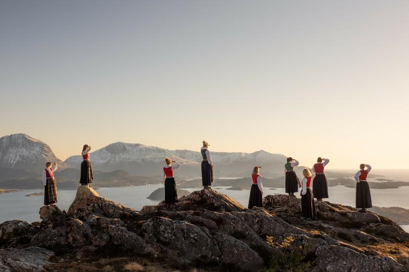 Bunadsgeriljaen fra Aure, Nord-Møre. Foto: Edgar Glomnes (c) (Foto/Photo)