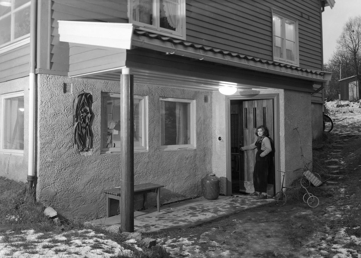 Hjemme hos Eva og Runar Børresen