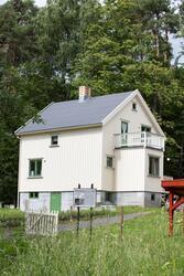 Bolighus fra Olderfjord i Porsanger, gjenoppført på Norsk Fo