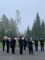 Fredningsmarkering i Trandumskogen (Foto/Photo)