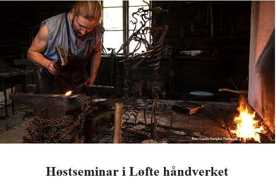 Høstseminar Løfte håndverket 2021 (Foto/Photo)