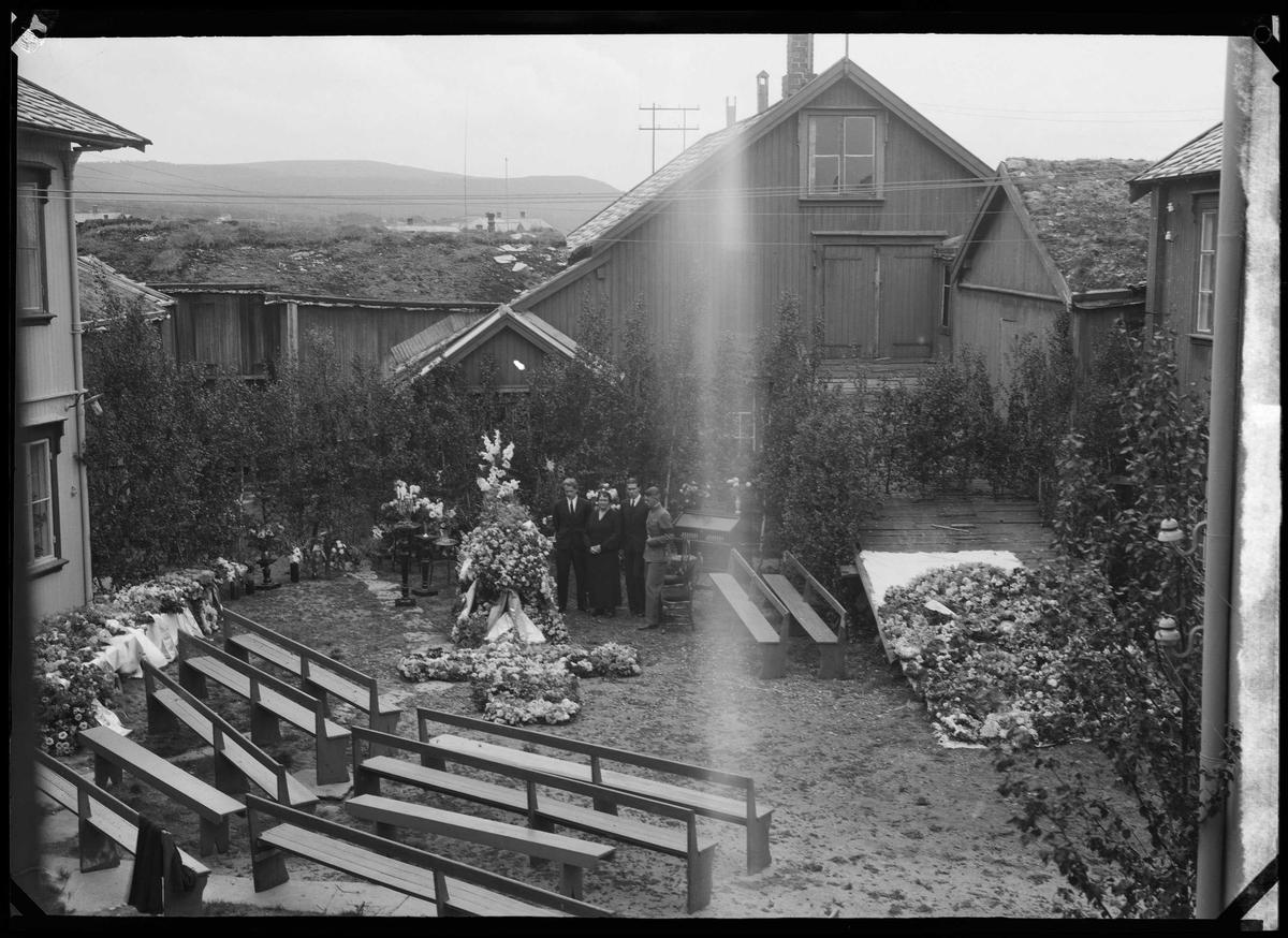 Begravelse på Røros