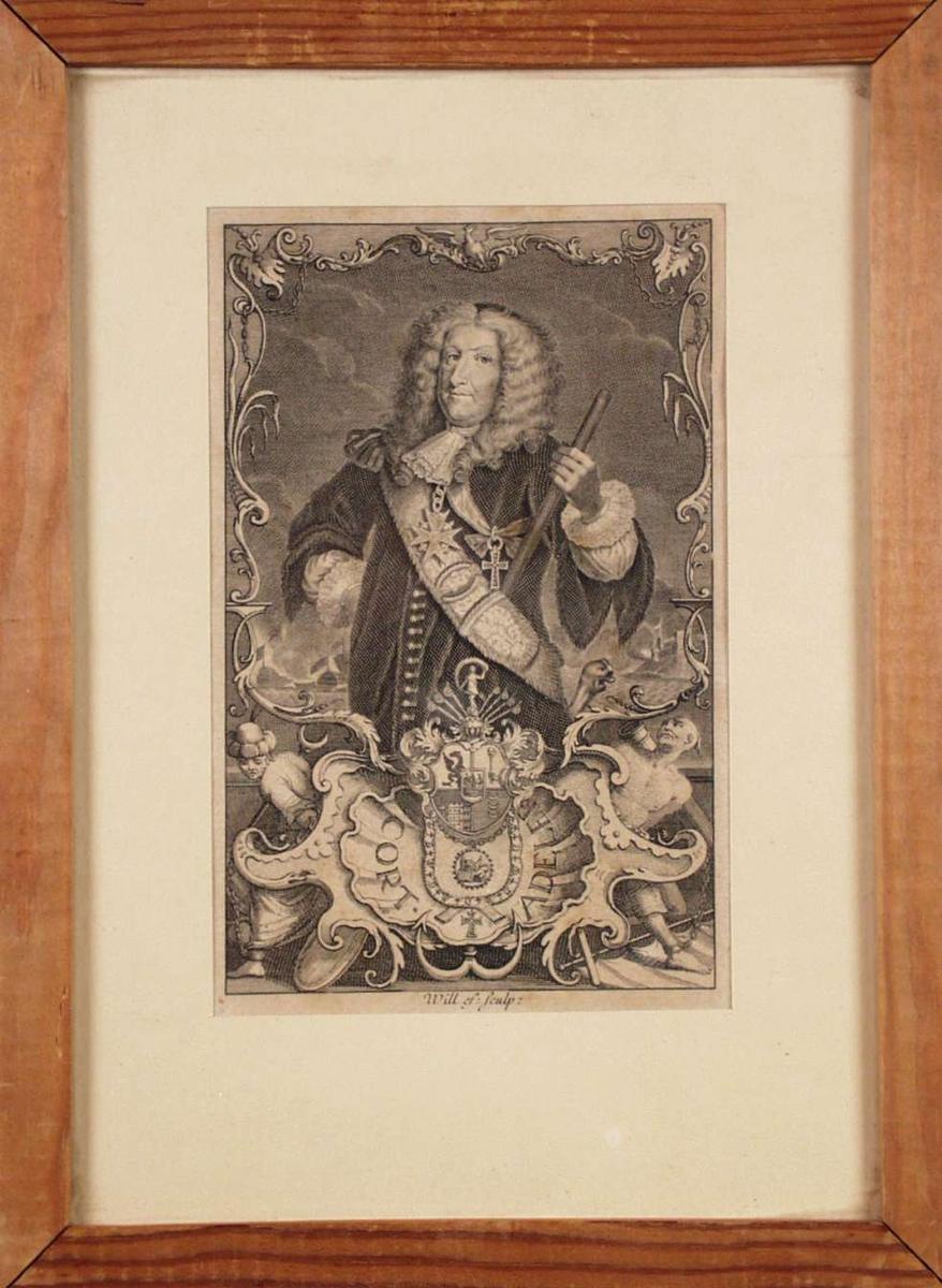 Et portrett av Court Adeler.