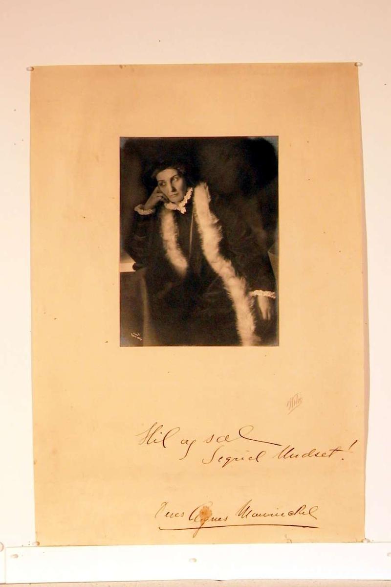 Rolleportrett av Agnes Mowinckel