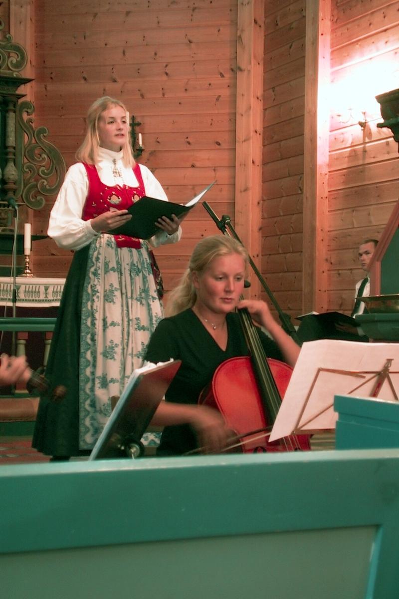 DOK:2000, Bjørnsonfestivalen, Nesset, kirke,