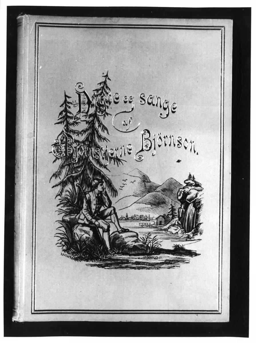 """Bokomslag, """"Digte og sange"""", førsteutgave,"""