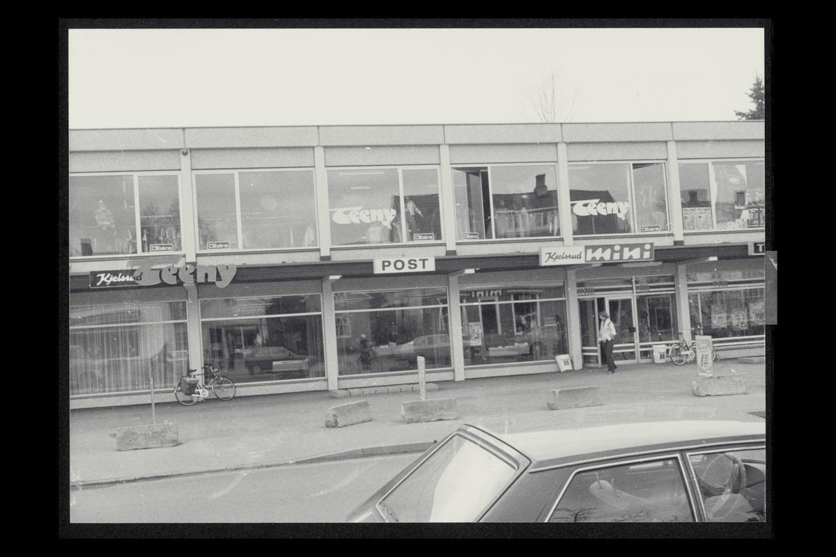 eksteriør, postkontor, 3300 Hokksund, kjøpesenter
