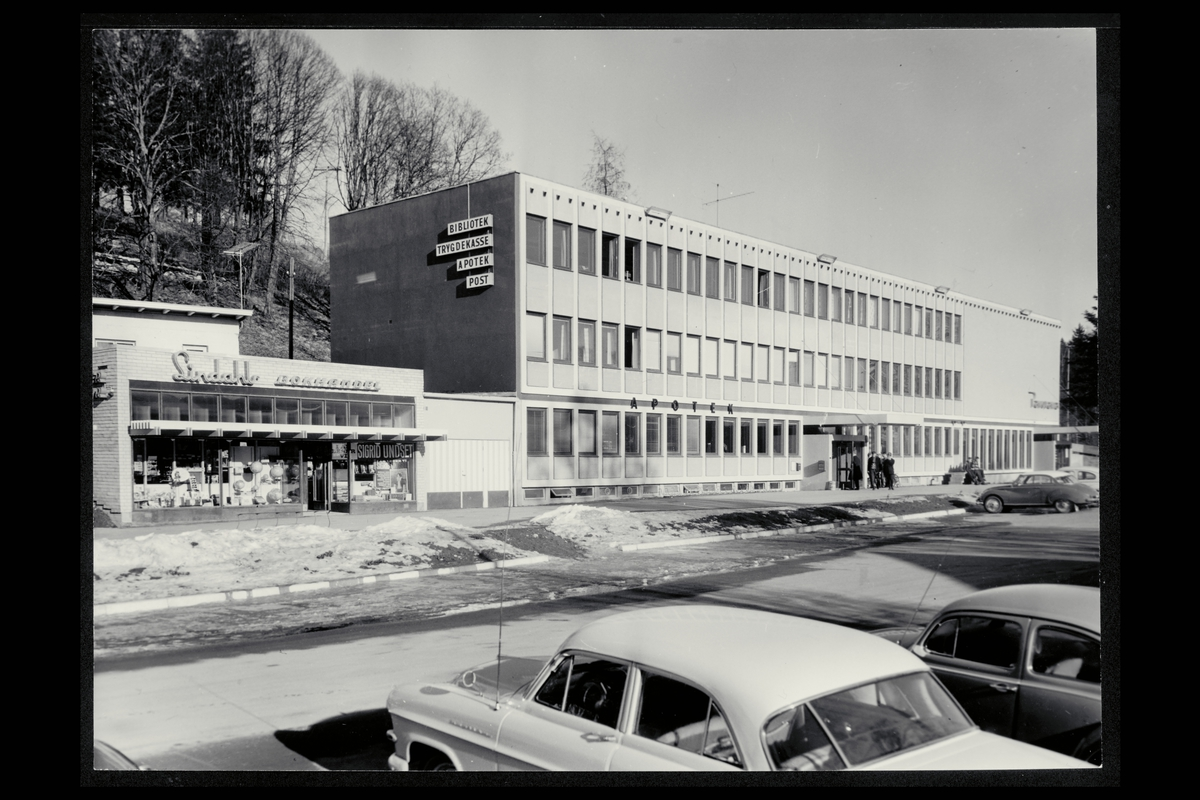 eksteriør, postkontor, 2080 Eidsvoll