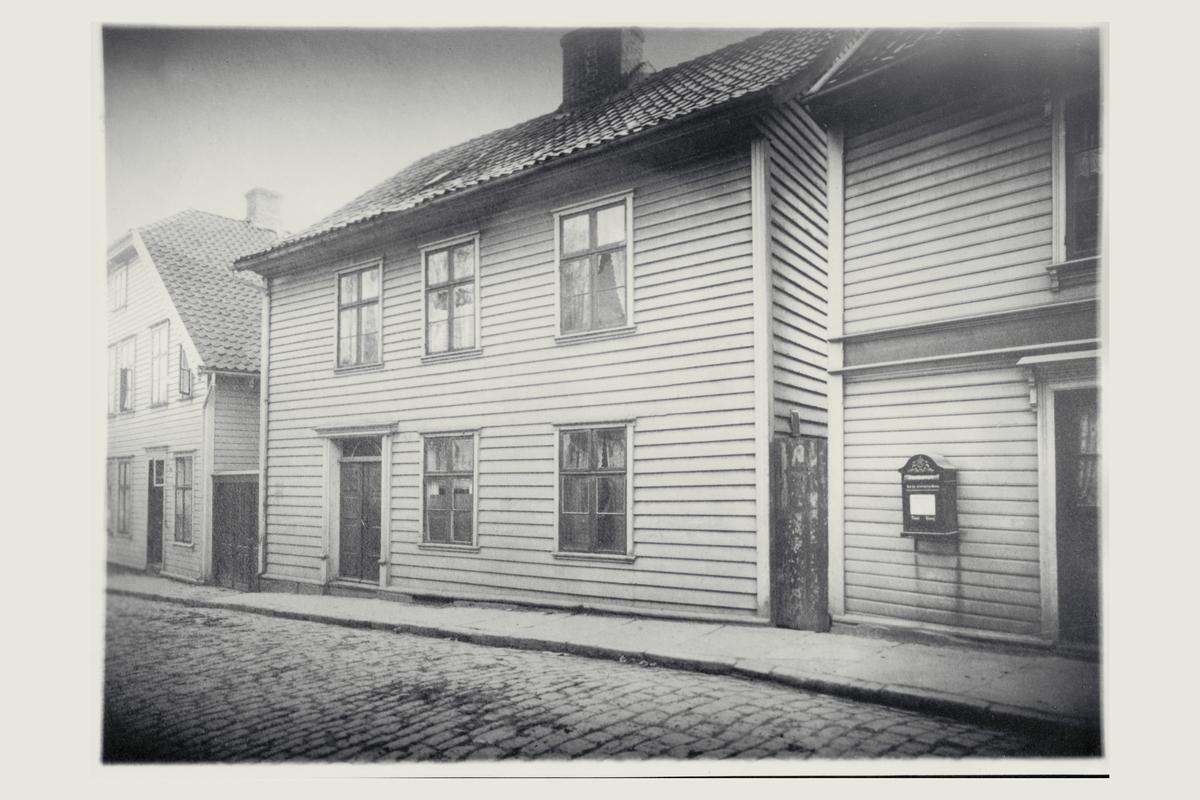 eksteriør, postkontor, 4001 Stavanger, postkasse, Olavskleiva 8.
