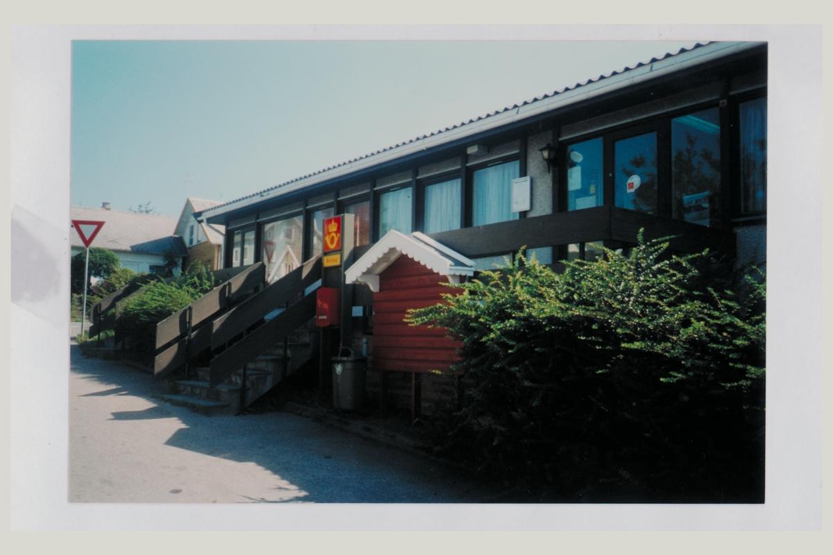 eksteriør, poståpneri, 4563 Borhaug, postskilt, postkasse
