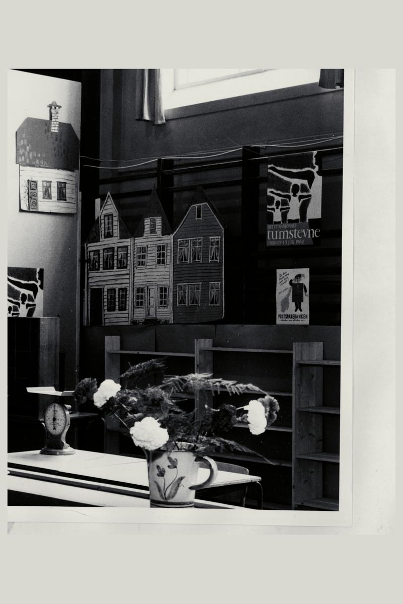 interiør, postkontor, ekspedisjonskontor