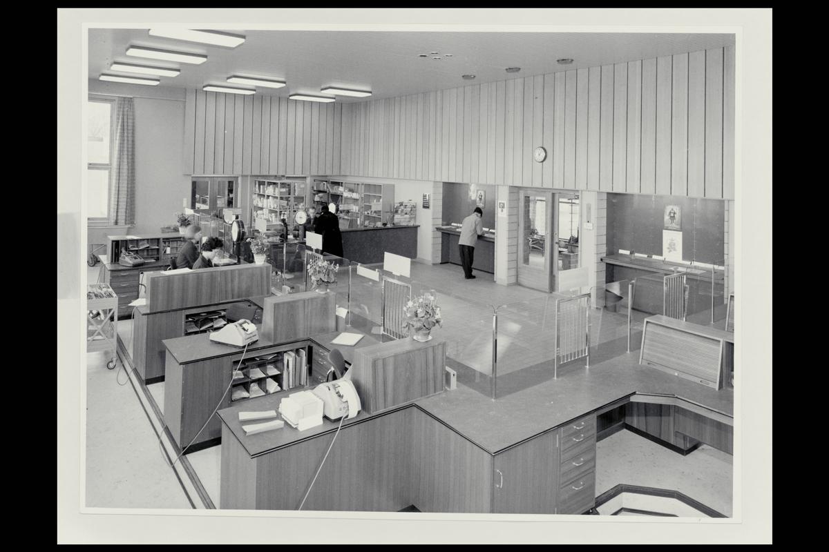 interiør, postkontor, 3900 Porsgrunn, ekspedisjon, ekspeditør, kunde