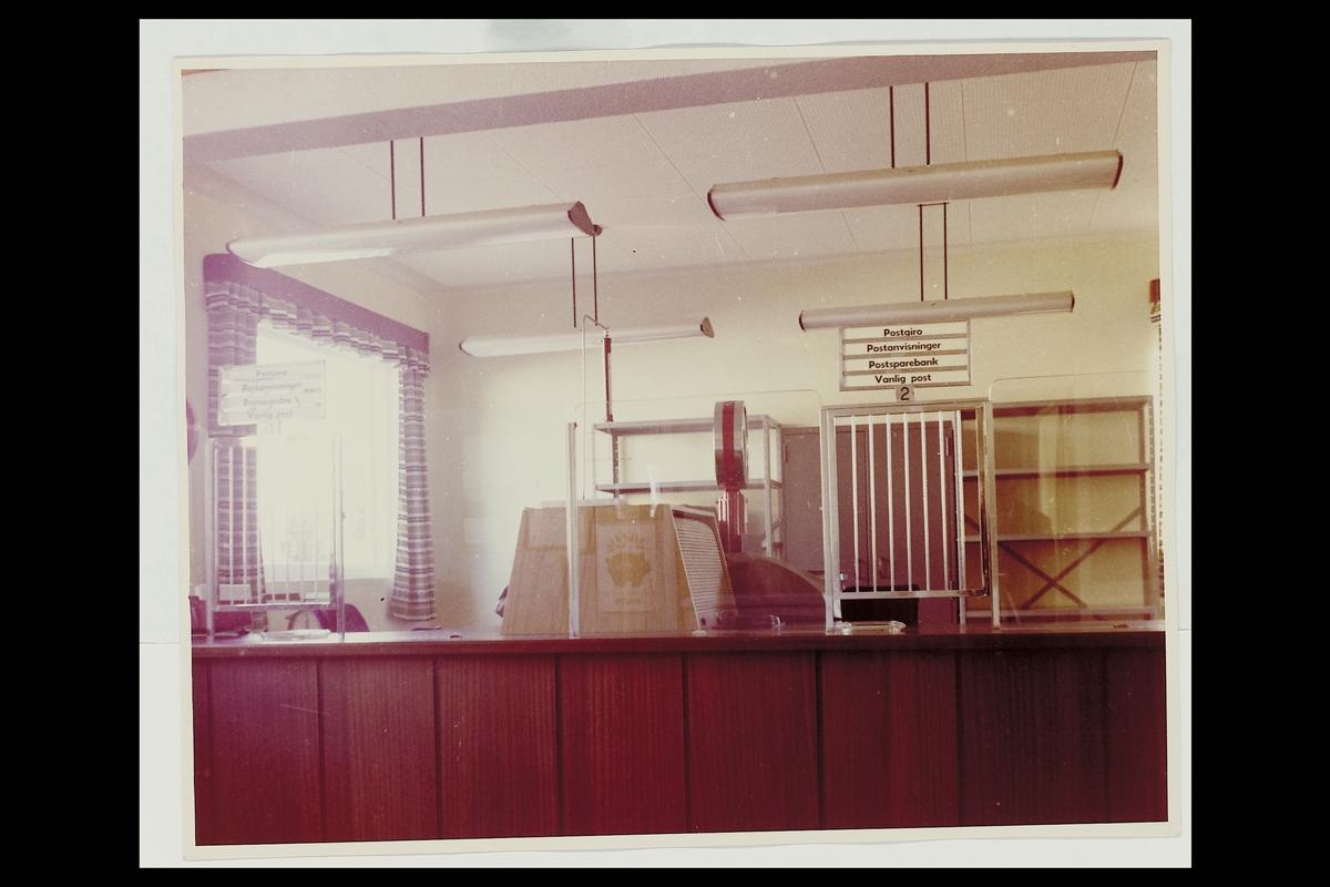 interiør, postkontor, publikumshall, vekt