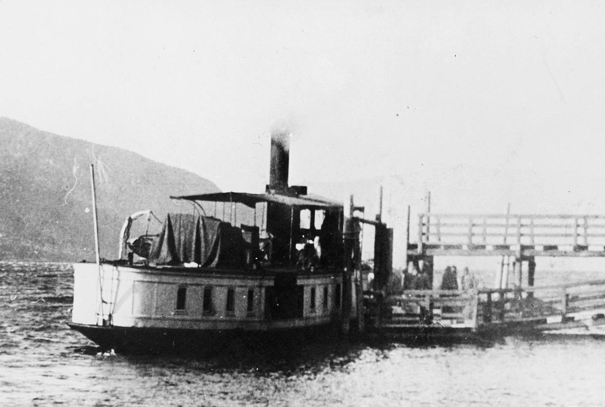 transport, båt, eksteriør, D/S Bægna, Sperillen