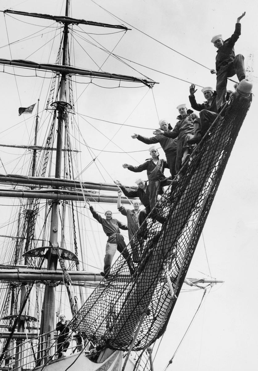 transport, båt, London, Sørlandet, på besøk når sjømannskirken Barmondsey feiret sitt 25 års jubile