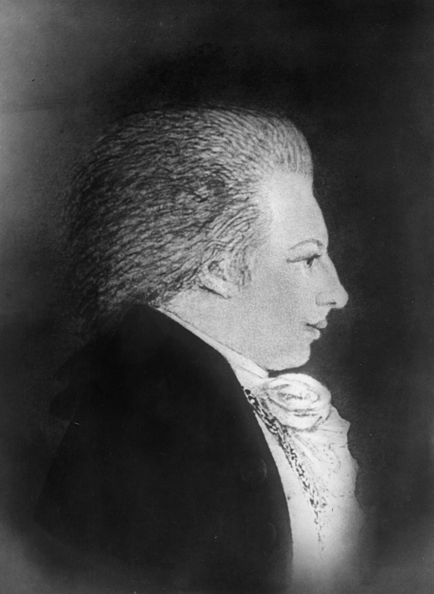 portrett, postmester, mann,  Wraatz Wilhelm