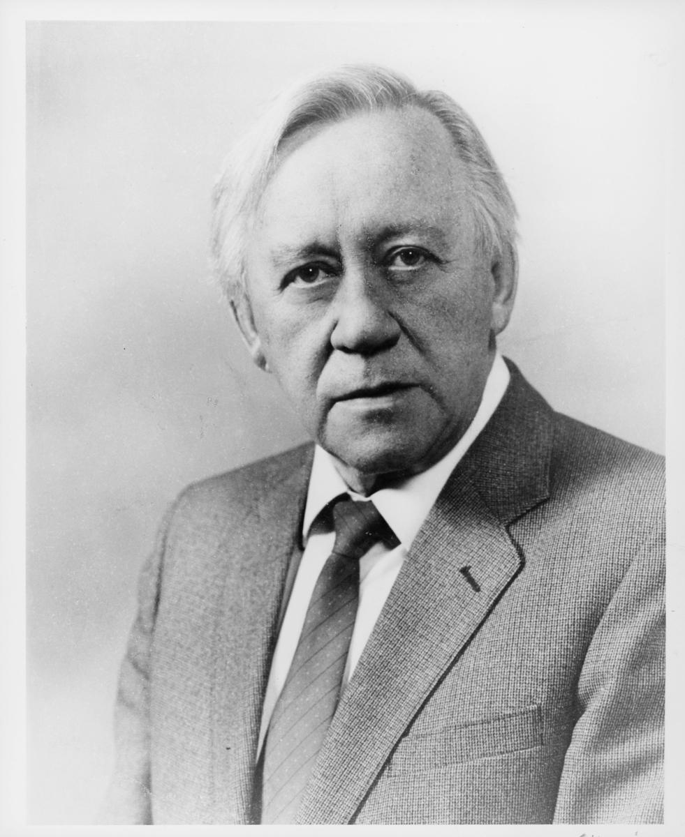 postsjef, Sandsør Edvard, portrett