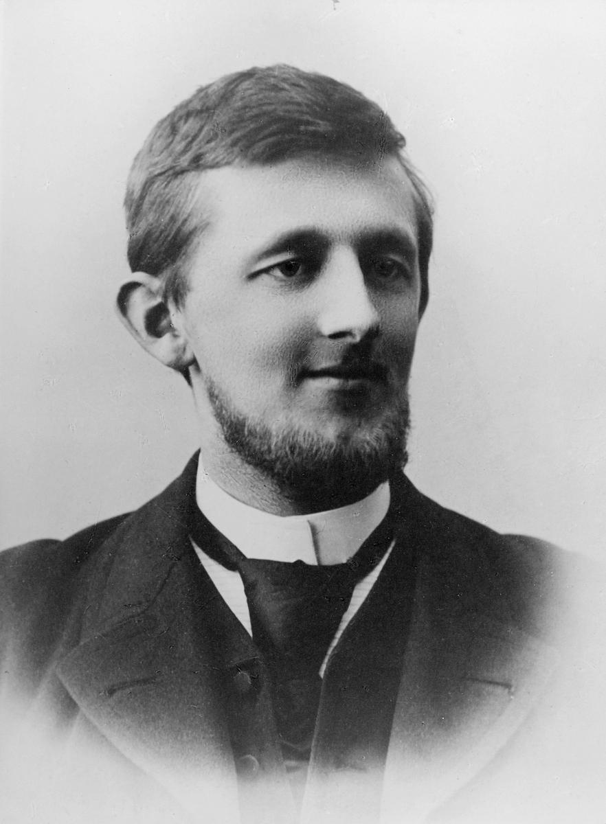 portrett, mann, Karl Anton Jansen