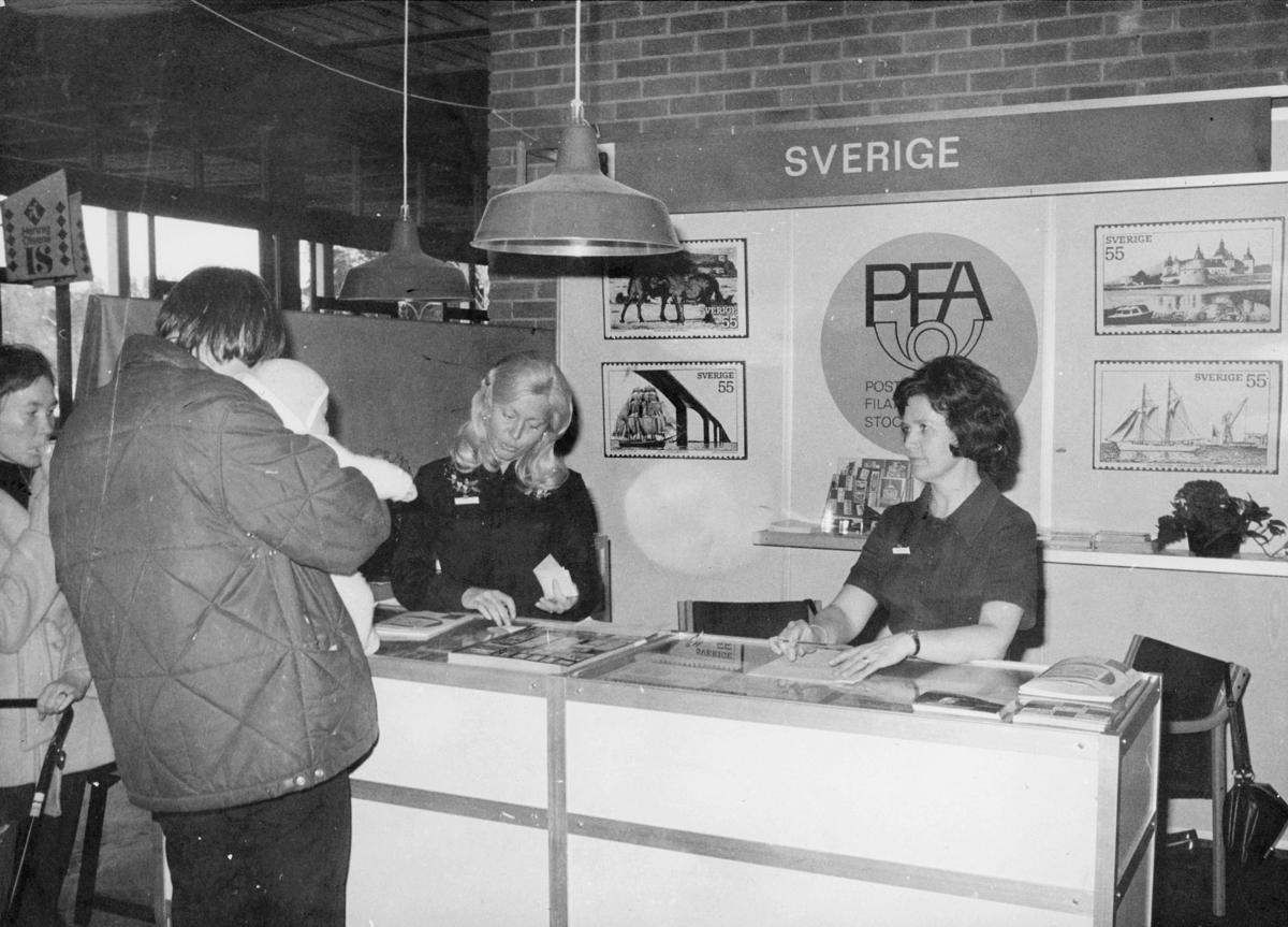 markedsseksjonen, ferie og fritid 5.4.1973, Oslo 2, filateli, utland