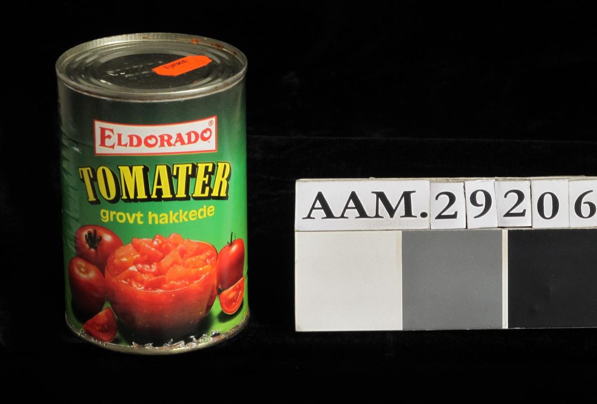 Tomater, hele og hakkede