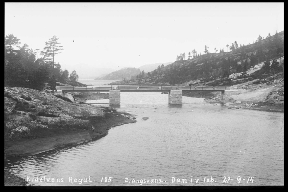 Arendal Fossekompani i begynnelsen av 1900-tallet CD merket 0565, Bilde: 42 Sted: Drangsvann Beskrivelse: Bro