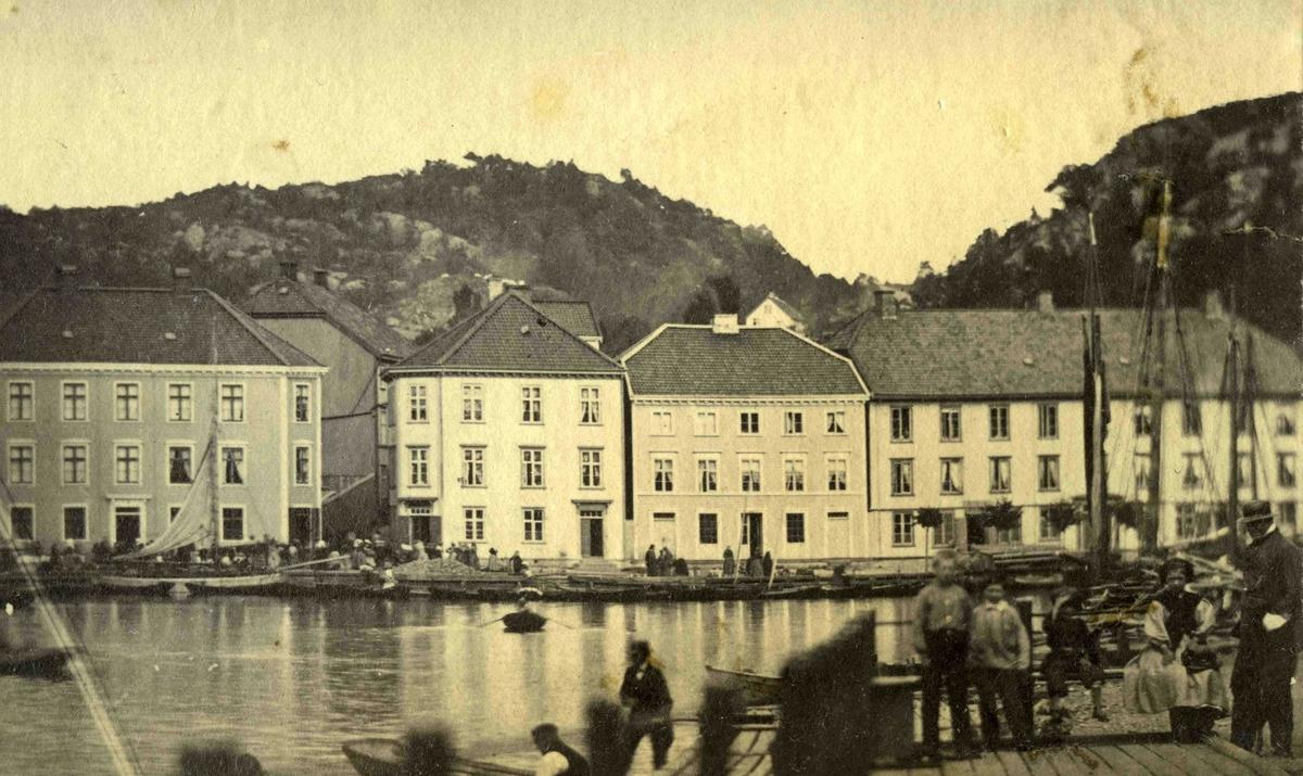 Arendal og omegn - Fra John Ditlef Fürst fotoalbum - Kirkegaten - AAks 44 - 4 - 7 - Bilde nummer 44