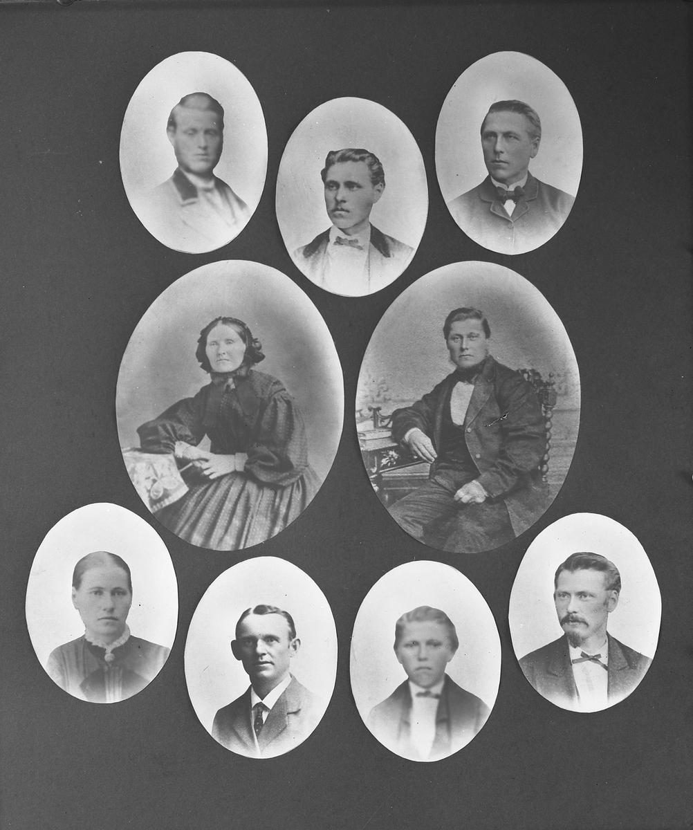 Bilder av familien Meilender Larsen