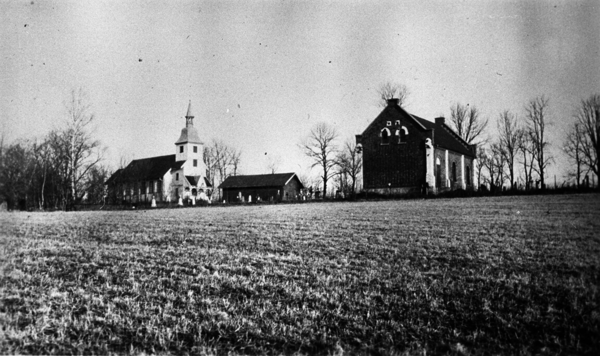 Kirke, kapell, uthus