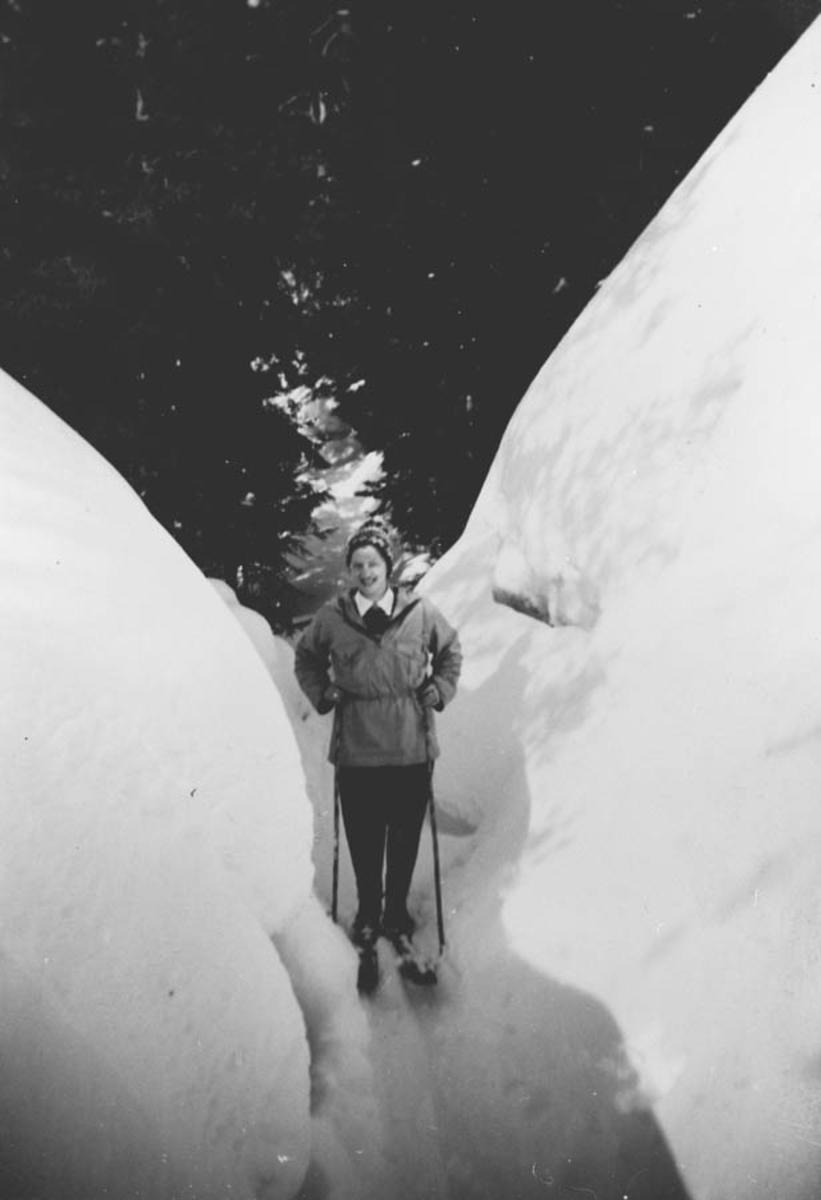 Skiløperske.
