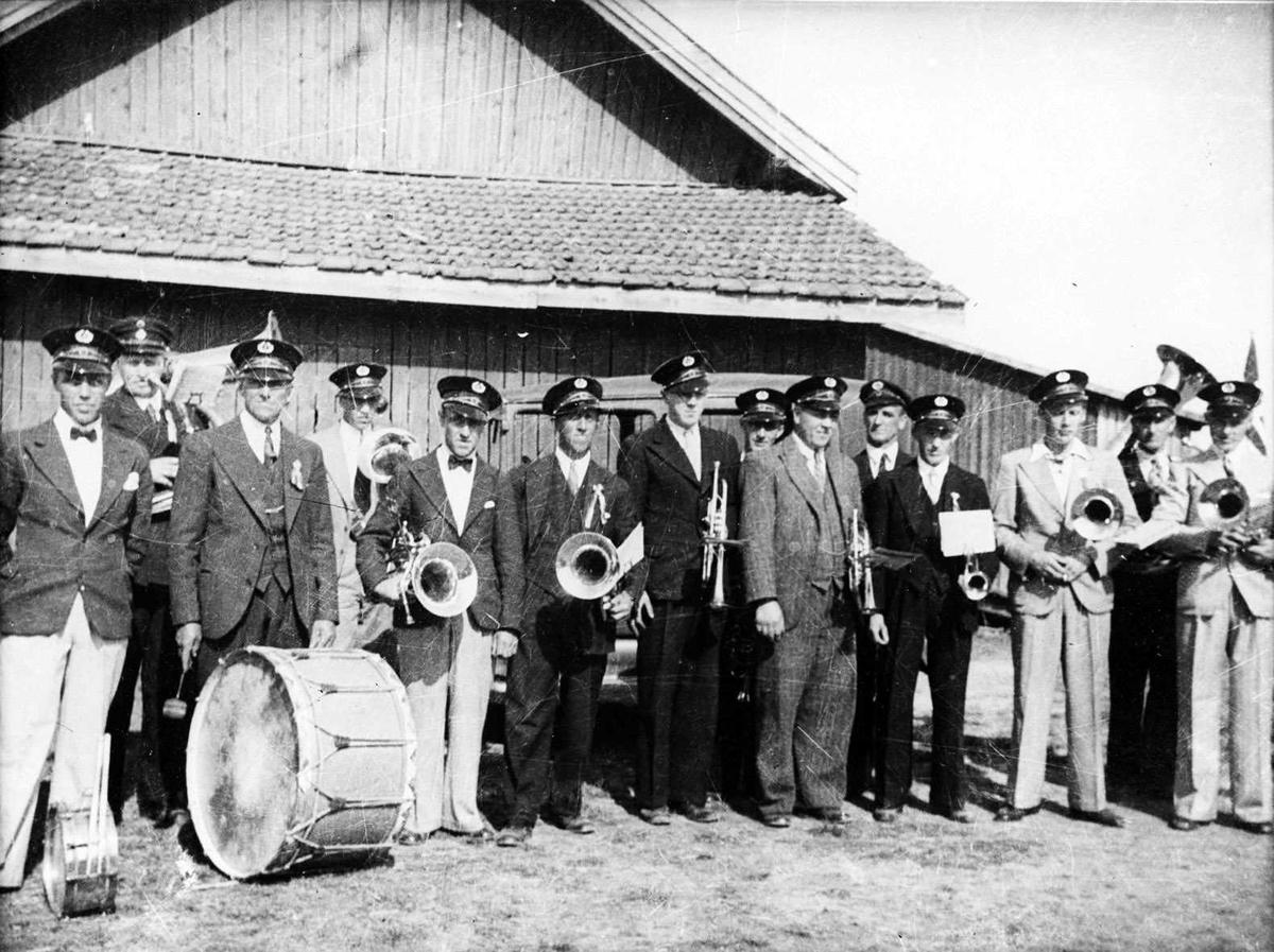 Ytre Rælingen musikklag, 17. mai 1939.