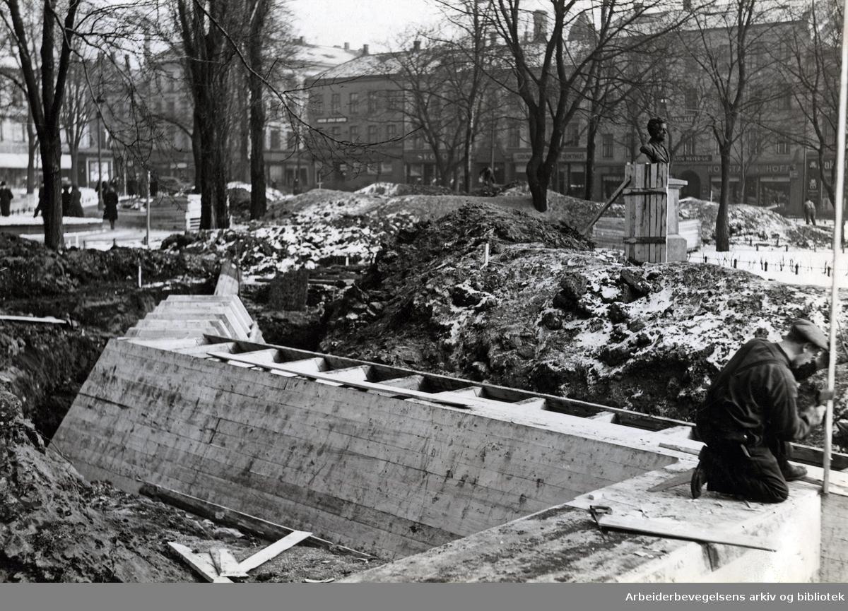 Olaf Ryes plass 1940
