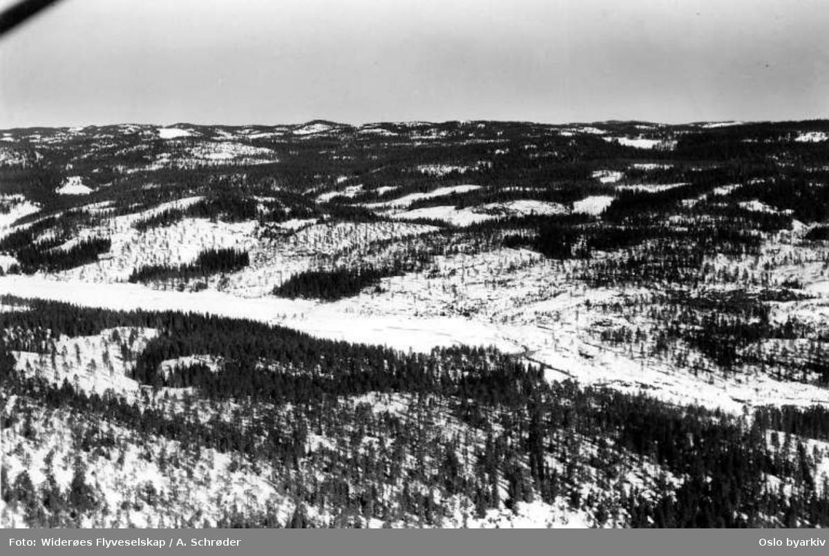 Nordmarka, Løvenskjold (Flyfoto)