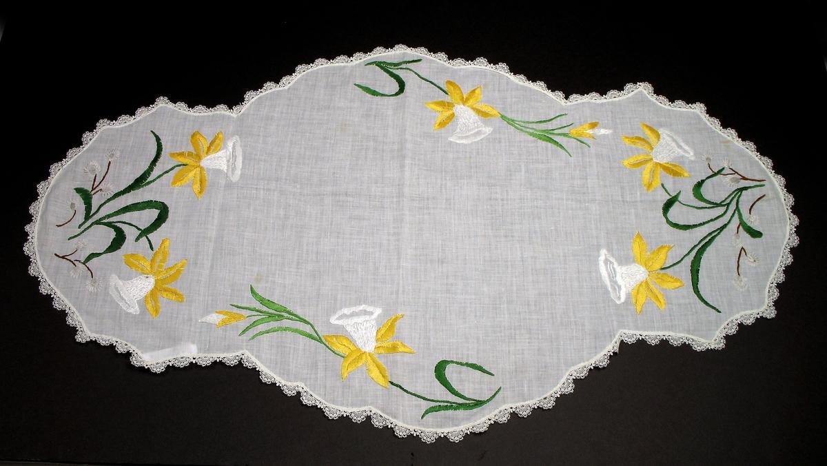Blomstermotiv-påskeliljer