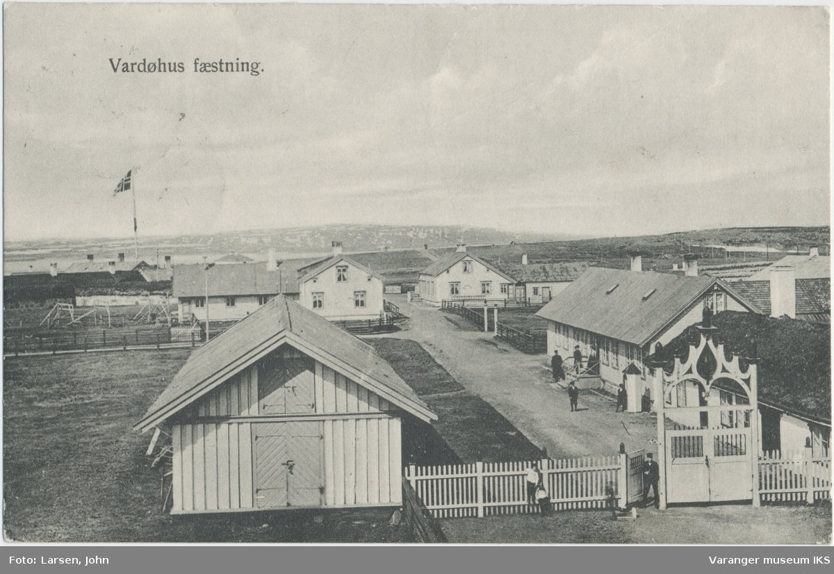 Postkort, Vardøhus Festning