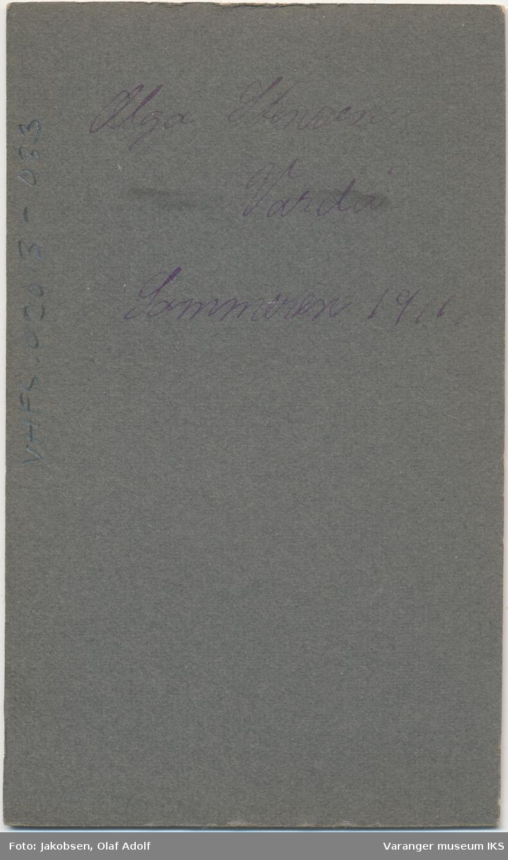 Portrett, Olga Stensen, 1911