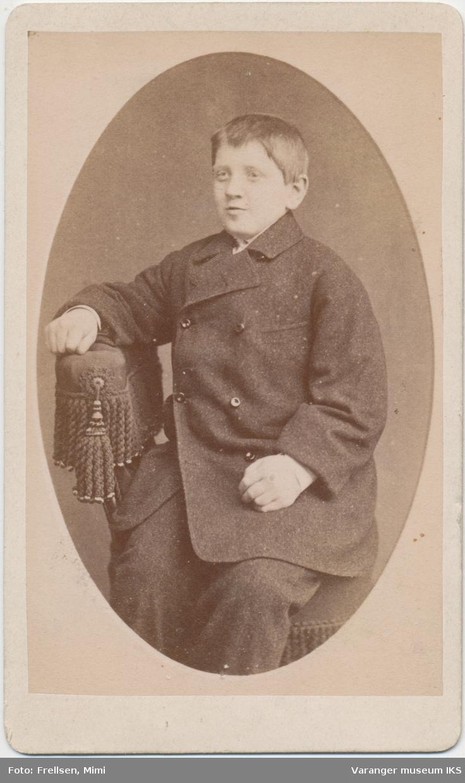 Portrett, Hjalmar Brodtkorb, 1881