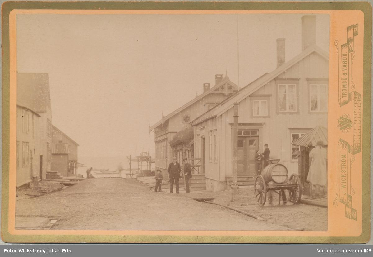 Hvistendalsgate, antatt 1890-tallet