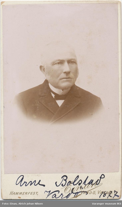 Portrett, Arne Østensen Bolstad, 1897