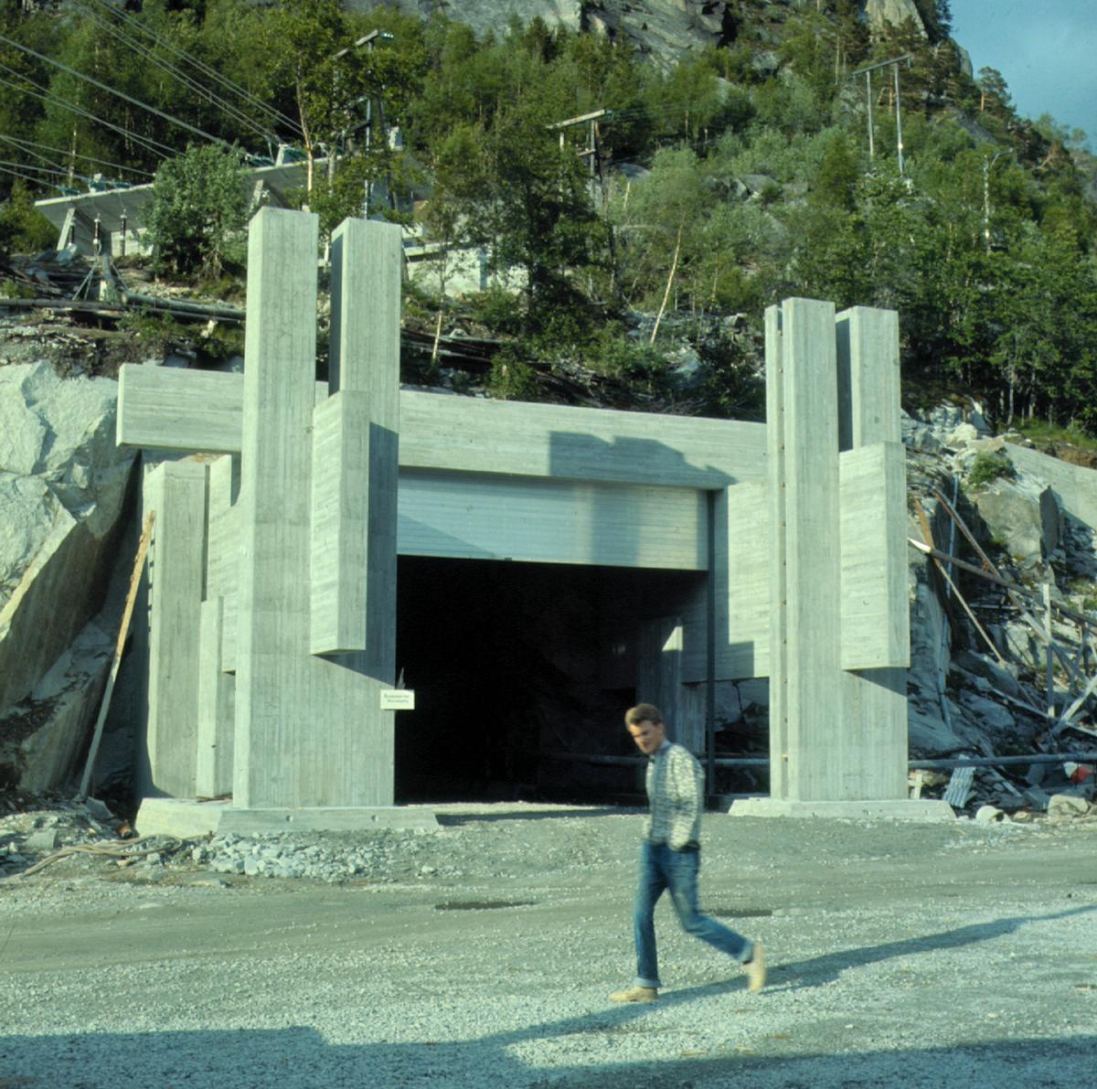 Inngangsportal, Tysso II kraftverk